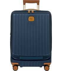 men's bric's capri 2.0 21-inch expandable rolling carry-on -