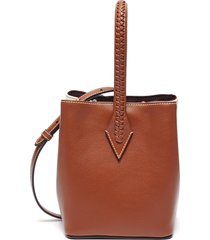 'perriand' panelled leather mini tote
