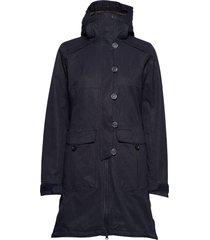 bjerke 3in1 lady coat parka lange jas jas blauw bergans