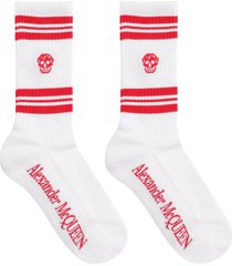 alexander mcqueen cotton sport socks