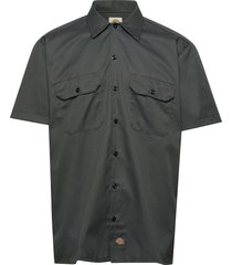 short sleeve work shirt kortärmad skjorta grå dickies