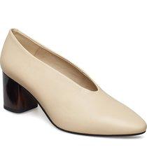 eve shoes heels pumps classic beige vagabond