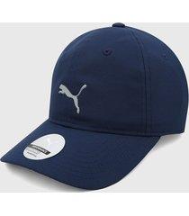gorra azul-gris puma golf men's pounce adjustable cap