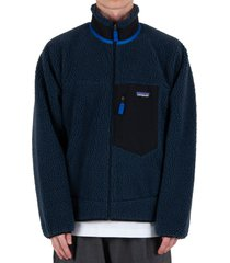 classic retro-x® fleece jacket - blue