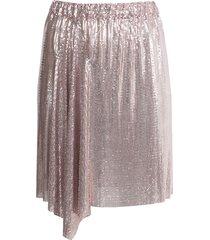 paco rabanne x the webster draped mini skirt