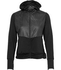 adv charge jersey hood jacket w outerwear sport jackets svart craft