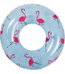 boia inflável anel flamingo belfix