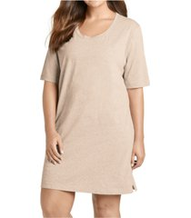 jockey plus size cotton sleep shirt nightgown