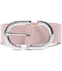 cinturón amadea rosa prune