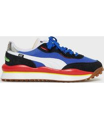 puma rider 020 play on sneakers blue