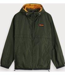 scotch & soda double-hood jacket