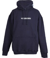 classic oversized logo hoodie