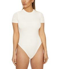 naked wardrobe the nw short-sleeve bodysuit
