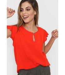 blusa roja new liza 9186l