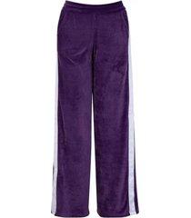 pantalón violeta fila plush tape mujer l 21413 violeta