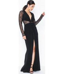 topshop lace panel maxi dress maxiklänningar