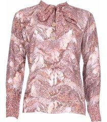 20 to 20to blouse strik stone cipria roze