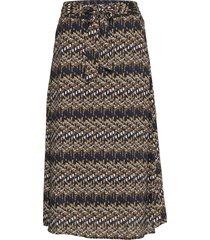 faya skirt knälång kjol multi/mönstrad minus