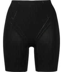 wacoal shape air breathable long leg control shorts - black