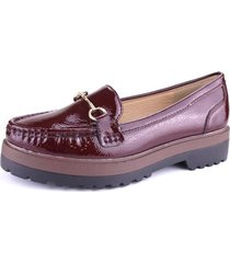 mocasin grand marron chalada