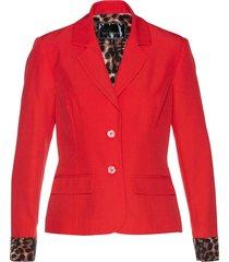 blazer con fodera leopardata (rosso) - bpc selection