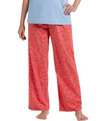 hue women's bitsy flower heart pajama pants
