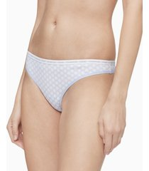 calvin klein ck one cotton singles thong underwear qd3783