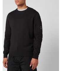 c.p. company men's crewneck sweatshirt - black - xxl