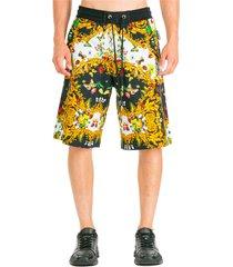 bermuda shorts pantaloncini uomo ladybug baroque