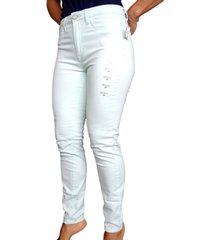 pantalón ajustado aeropostale para mujer-agua
