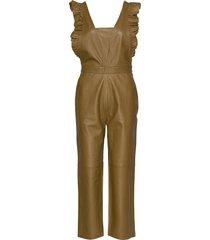 hevin jumpsuit brun custommade