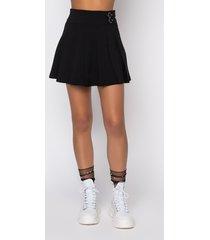 akira harbor pleated mini skirt