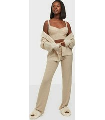 nly one cup rib set jumpsuits