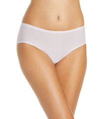 women's chantelle lingerie soft stretch seamless hipster panties, size one size - purple