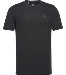 ua rush seamless fitted ss t-shirts short-sleeved svart under armour