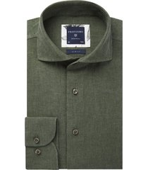 groen overhemd profuomo originale slim fit