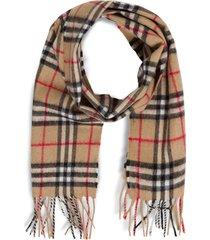 burberry vintage check scarf
