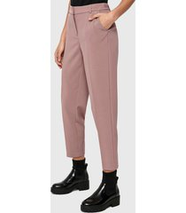 pantalón only rosa - calce regular