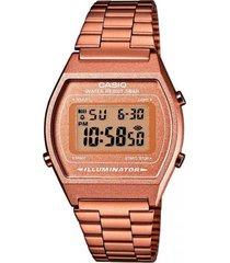 reloj casual rosa casio