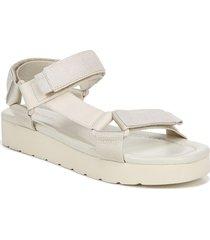women's vince carver sport sandal, size 11 m - white