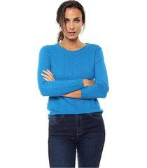 sweater azul nano berta