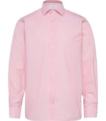 contemporary fit business casual fine twill shirt overhemd business roze eton