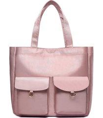 borsa a mano multi-tasca oxford borsa per le donne