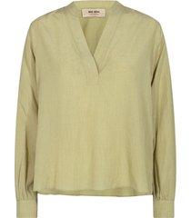 nadine mini check blouse
