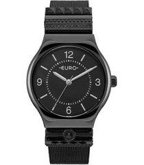 relógio feminino euro eu2035yni/4p aço