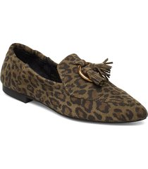 jasmin tassel loafers låga skor grön pavement