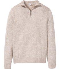 maglione leggero con cotone riciclato (beige) - john baner jeanswear