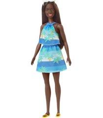 barbie loves the ocean print top/skirt