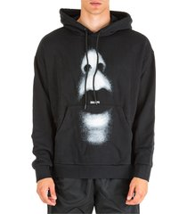 marcelo burlon hoodie sweatshirt sweat mouth over
