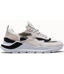 d.a.t.e. sneakers fuga mesh colore bianco